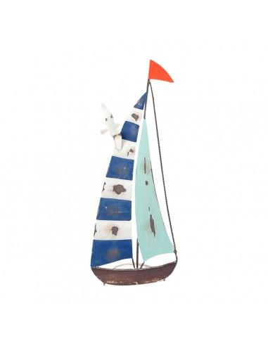 Barco veleta roja